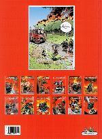Verso de Les pompiers -12- Pilier de barre