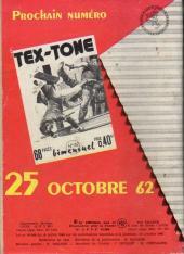 Verso de Tex-Tone -131- La terrible chevauchée