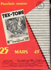 Verso de Tex-Tone -189- Jericho