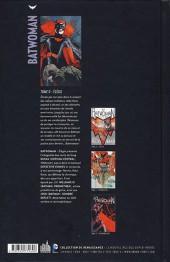 Verso de Batwoman -0- Élégie