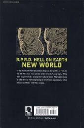 Verso de B.P.R.D. Hell on Earth (2010) -INT01- New World