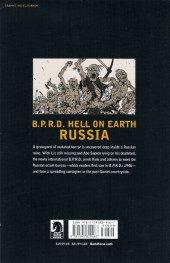 Verso de B.P.R.D. Hell on Earth (2010) -INT03- Russia
