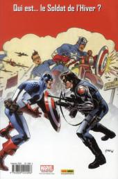 Verso de Captain America (Marvel Deluxe) -2- La Légende Vivante