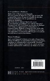Verso de Tintin - Divers - La vie quotidienne à Moulinsart