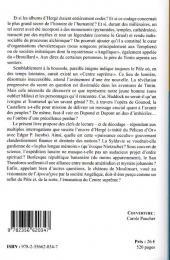 Verso de (AUT) Hergé -79- Hergé et l'énigme du pôle