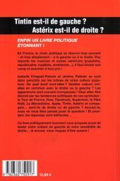 Verso de (DOC) Études et essais divers - Tintin est-il de gauche ? Astérix est-il de droite ?
