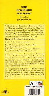 Verso de Tintin - Divers - Tintin est-il de droite ou de gauche ?