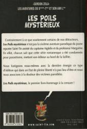 Verso de Les aventures de Saint-Tin et son ami Lou -6- Les poils mystérieux