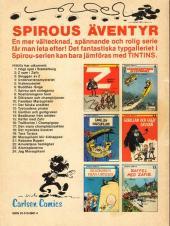 Verso de Spirous äventyr -24- Jag Marsupilami