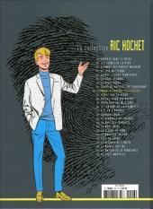 Verso de Ric Hochet - La collection (Hachette) -26- L'ennemi à travers les siècles