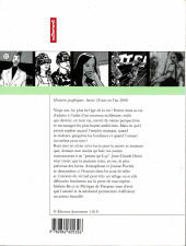 Verso de Histoires graphiques - Avoir 20 ans en l'an 2000
