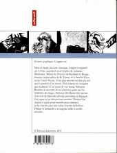 Verso de Histoires graphiques - L'argent roi