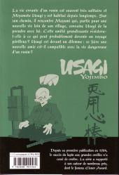 Verso de Usagi Yojimbo -24- Volume 24