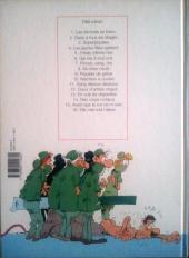 Verso de Les femmes en Blanc -2b1997- Gaze à tous les étages