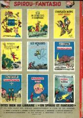 Verso de Spirou et Fantasio -10'- Les pirates du silence