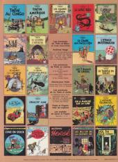 Verso de Tintin (Historique) -18C1- L'affaire Tournesol