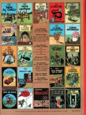 Verso de Tintin (Historique) -9C1- Le crabe aux pinces d'or