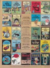 Verso de Tintin (Historique) -19C1- Coke en stock