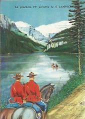 Verso de Jim Canada -7- La traîtrise de Loup Hardi