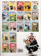 Verso de L'agent 212 -15a1998- L'appeau de l'ours