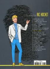 Verso de Ric Hochet - La collection (Hachette) -27- L'épée sur la gorge