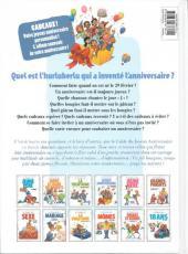 Verso de Le guide -14c12- Le guide du joyeux anniversaire