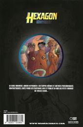Verso de Hexagon universe -3- Le Gladiateur de bronze / Brigade Temporelle