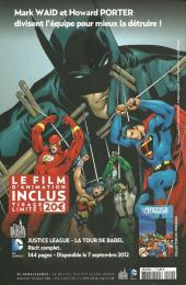 Verso de DC Saga -4- Numéro 4