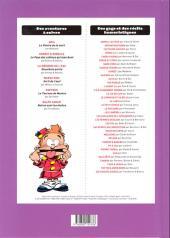Verso de (Recueil) Spirou (Album du journal) -324- Spirou album du journal
