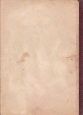 Verso de L'Épervier bleu (Dupuis) -2- Le pharaon des cavernes
