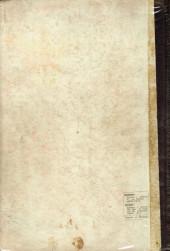 Verso de L'Épervier bleu (Dupuis) -1- L'épervier bleu