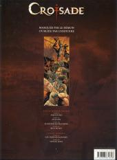 Verso de Croisade - Nomade -1Pub- Simoun Dja