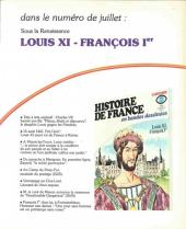 Verso de Histoire de France en bandes dessinées -9- Charles VI, Jeanne d'Arc