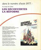 Verso de Histoire de France en bandes dessinées -10- Louis XI, François 1er