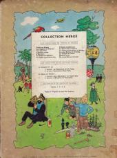 Verso de Tintin (Historique) -12B15- Le trésor de Rackham Le Rouge