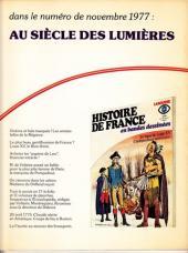 Verso de Histoire de France en bandes dessinées -13- Louis XIV le roi soleil
