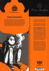 Verso de Pizza roadtrip