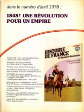 Verso de Histoire de France en bandes dessinées -18- La Restauration, Louis Philippe
