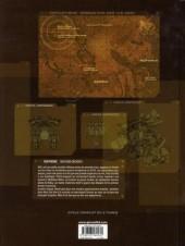 Verso de Les seigneurs de guerre -1- Marik
