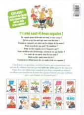 Verso de Le guide -10c12- Le guide des amis