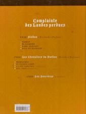 Verso de Complainte des Landes perdues -5ES- Moriganes