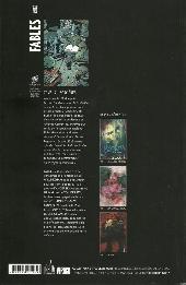 Verso de Fables (avec couverture souple) -17- Sorcières