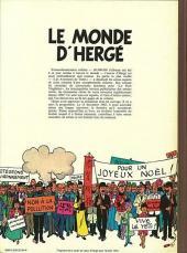 Verso de (AUT) Hergé -2a1984- Le monde d'Hergé