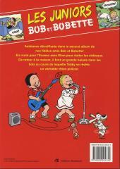 Verso de Bob et Bobette (Les Juniors) -2- Inspecteurs juniors
