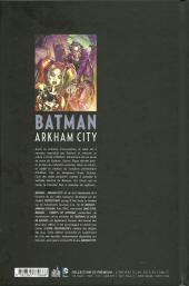 Verso de Batman : Arkham City