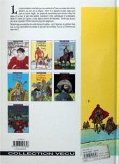 Verso de Les 7 Vies de l'Épervier -2a1996- Le temps des chiens