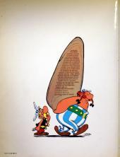 Verso de Astérix (en anglais) -19b- Asterix and the soothsayer