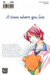 Verso de A town where you live -8- Tome 8