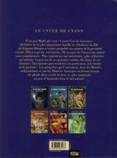 Verso de Le cycle de Cyann -3a2012- Aïeïa d'Aldaal