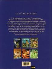 Verso de Le cycle de Cyann -4a- Les Couleurs de Marcade